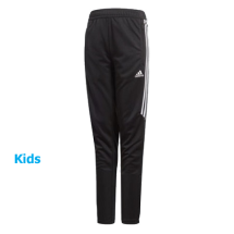 Adidas Tiro17 trainingsbroek zwart-wit (BS3690)