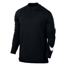 Nike squad training top zwart (859197-010)