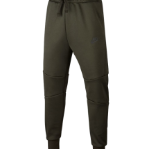 Nike boys NSW Tech Fleece broek groen (AR4019-355)
