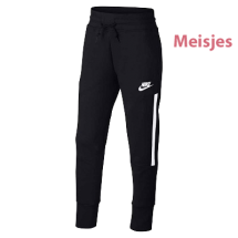 Nike Girls tech fleece broek zwart (890257-010)