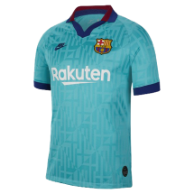Nike Fc Barcelona stad shirt groen jr (AT2632-310)