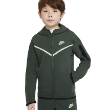 Nike Tech fleece vest JR groen (CU9223-337)