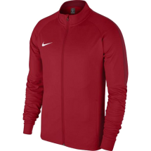 Nike academy 18 trainingsjack rood JR (893751-657)