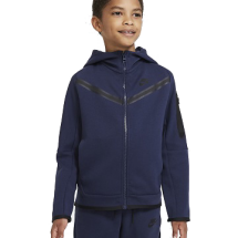 Nike Tech Fleece vest blauw JR (CU9223-410)