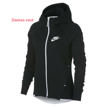 Nike Tech Fleece dames vest zwart (930759-011)