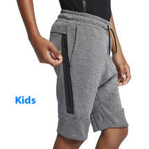 Nike tech fleece short grijs (816280-093)