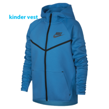 Nike tech Fleece kinder vest blauw (910280-482)
