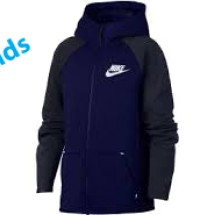 Nike tech fleece veste blauw dessin (AR4020-492)
