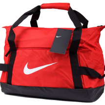 Nike club team duffel tas rood (BA5505-657)