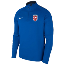 Nike future star academy drill top blauw jr