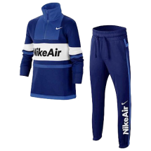 Nike air trainingspak Blauw (CJ7859-455)